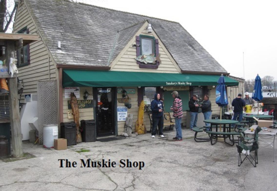 musky shop pewaukee lake