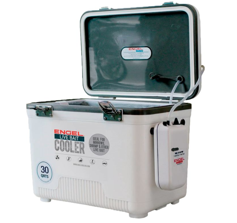 engel 30 qt cooler with aerator