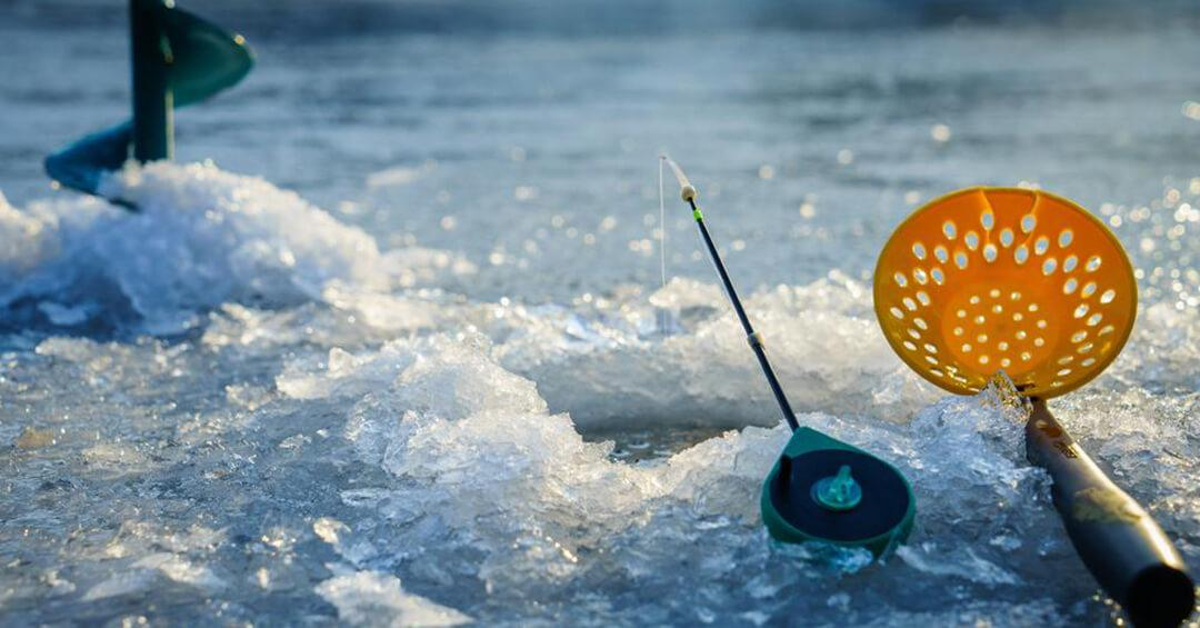 ice fishing tackle