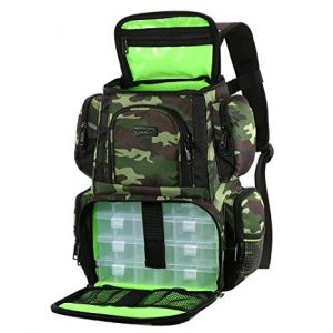 Lixada Multifunctional Backpack Tackle Box
