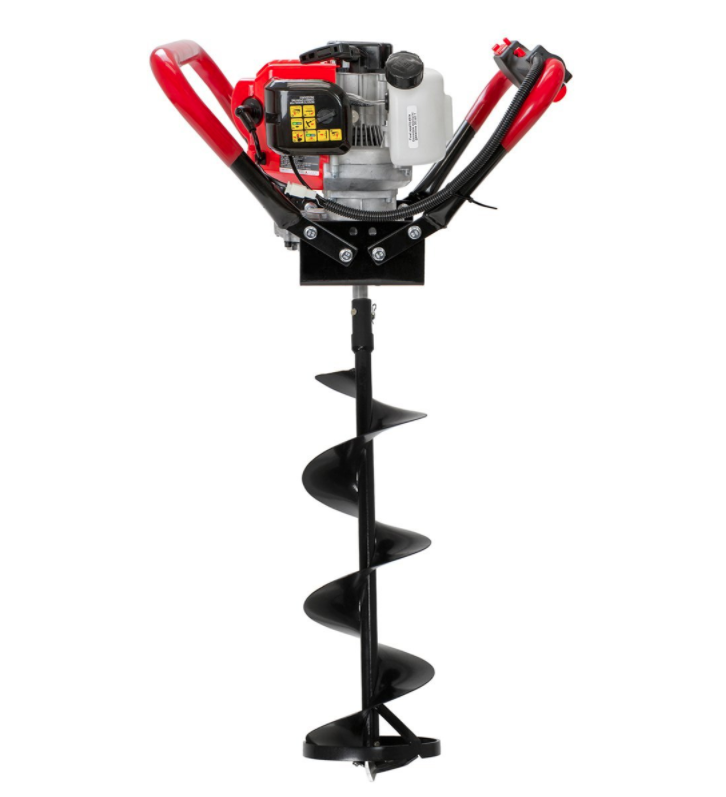 xtremepower gas auger