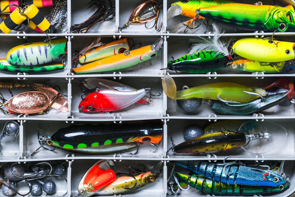 inside the best fishing tackle box