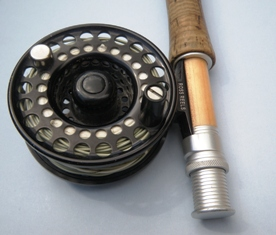 fly fishing reel seat