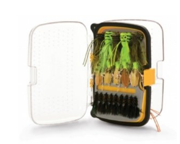 metallic green fly box
