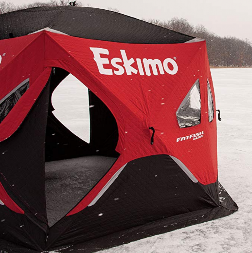 best 6 person ice shelter eskimo