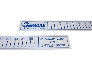 stick on fish ruler