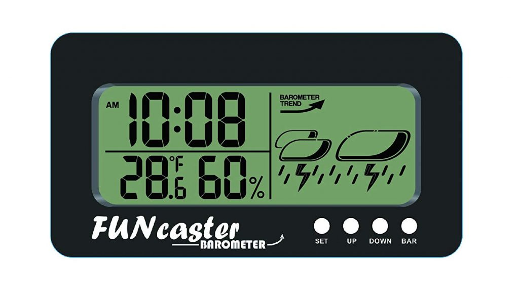 best barometer for fishing hunting camping and golfing